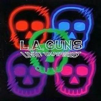 Live! Vampires - Image: Live Vampires by LA Guns