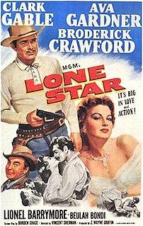 <i>Lone Star</i> (1952 film) 1952 film by Vincent Sherman