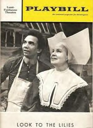Look to the Lilies - Original Playbill