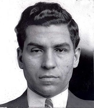 Meyer Lansky - Lucky Luciano, Lansky's partner in the American Mafia.