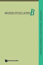Modern Physics Letters B - Wikipedia, the free encyclopedia