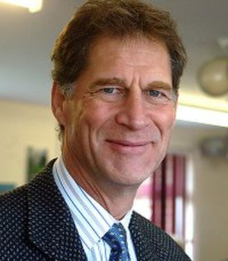 Simon MacCorkindale - MacCorkindale in 2008 at the opening of a Headway Clinic in Swindon
