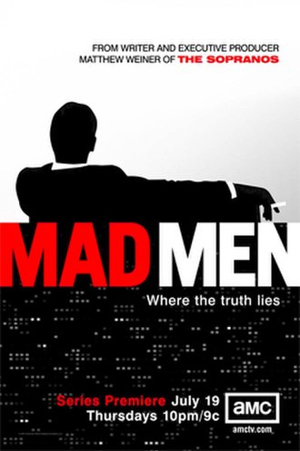 Mad Men (season 1) - Season 1 promotional poster