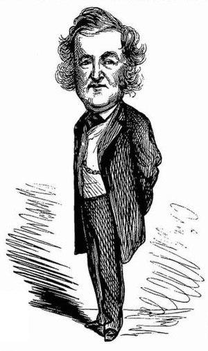 John Maddison Morton - Caricature of Morton, 1876