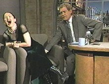 Drew barrymore flashes dave letterman - 2 part 6
