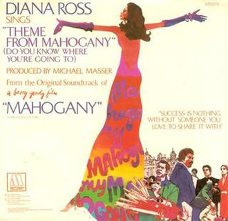 Theme from Mahogany (Do You Know Where You're Going To) - Image: Mahogany cover