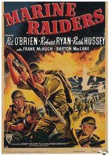 <i>Marine Raiders</i> (film) 1944 film by Harold D. Schuster