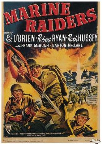 Marine Raiders (film) - Original film poster