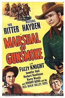 <i>Marshal of Gunsmoke</i> 1944 film by Vernon Keays