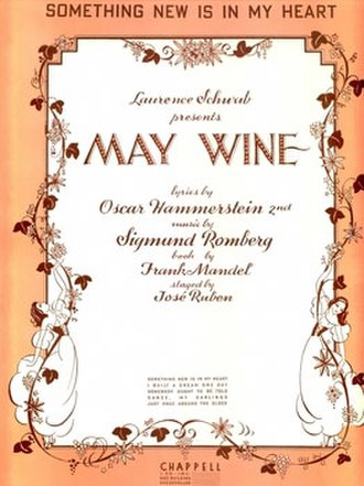 May Wine - Sheet Music Cover (cropped)