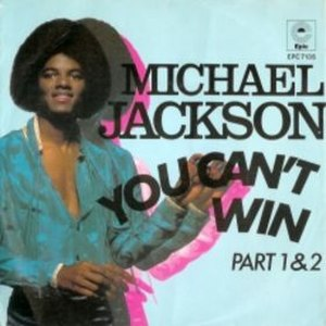 You Can't Win (song) - Image: Michael Jackson You Cant Win