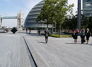 Townshend Landscape Architects - Image: More London 01 by Townshend Landscape Architects