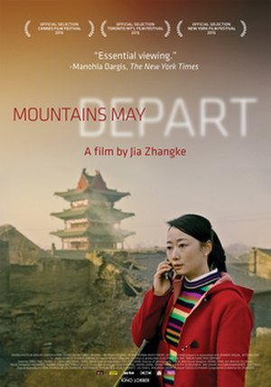 Mountains May Depart - Image: Mountains May Depart poster