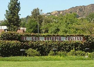 Mt. San Antonio College Community college in Walnut, California