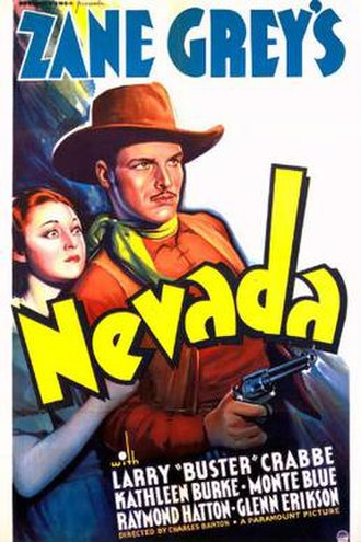 Nevada (1935 film) - Theatrical release poster