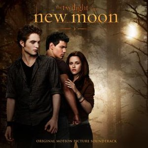 The Twilight Saga: New Moon (soundtrack) - Image: New Moon Soundtrack