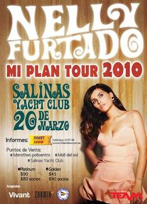 Mi Plan Tour - Promotional poster for tour