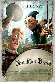 <i>One Man Band</i> (film) 2005 animated film directed by Mark Andrews