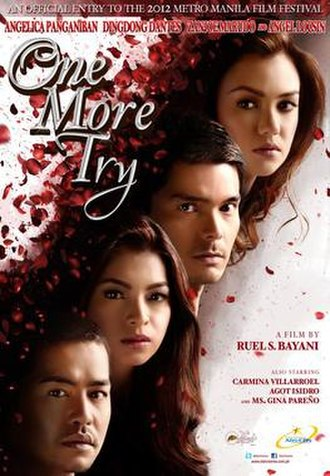 One More Try (film) - Theatrical movie poster