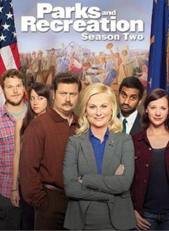 Parks and Recreation (season 2) - DVD cover art