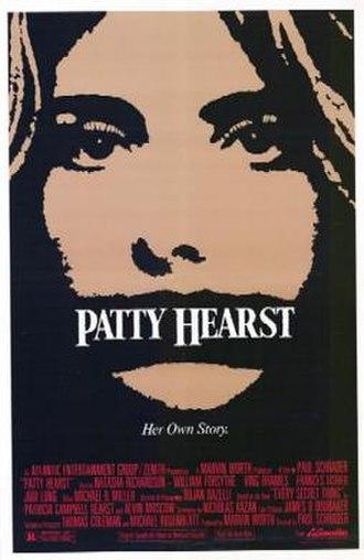 Patty Hearst (film) - Film poster