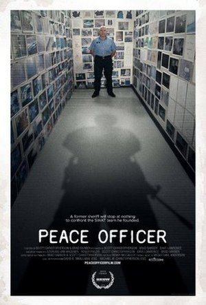 Peace Officer (film) - Image: Peace Officer (film) POSTER