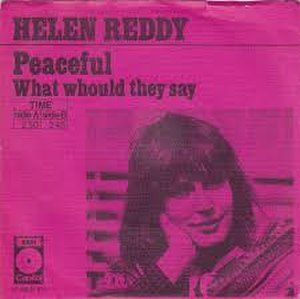 Peaceful (song) - Image: Peaceful Helen Reddy