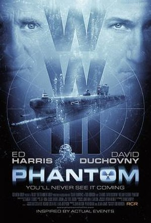Phantom (2013 film) - Film poster.