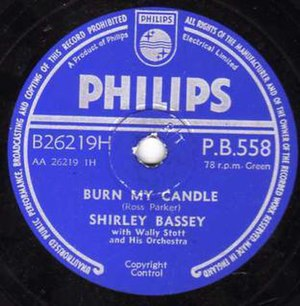 Burn My Candle - Image: Philips P.B. 558