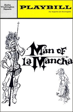 Man of La Mancha - Original Playbill