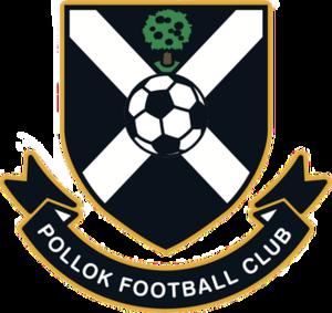 Pollok F.C. - Pollok FC crest