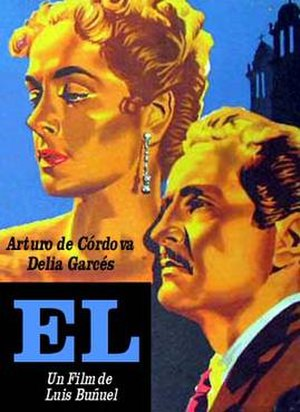 Él (film) - Image: Poster for the film El, by Luis Bunuel