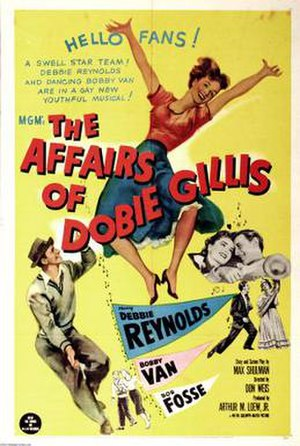 The Affairs of Dobie Gillis - Theatrical release poster