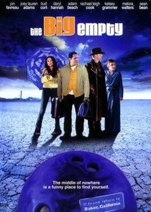 The Big Empty (2003 film) - Image: Poster of the movie The Big Empty