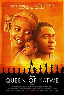 <i>Queen of Katwe</i> 2016 film by Walt Disney Pictures