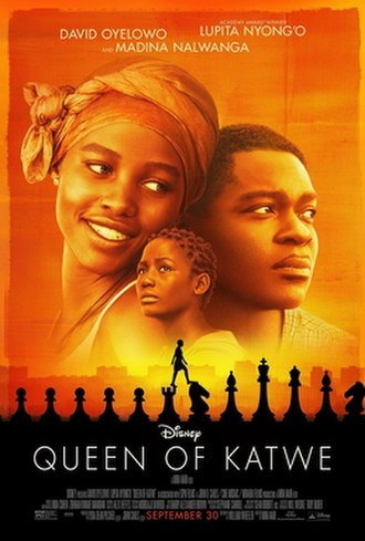 Queen of Katwe - Theatrical release poster