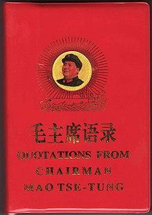 Quotations From Chairman Mao Tse Tung Wikipedia