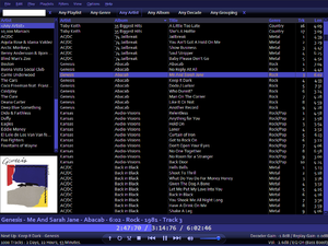 QuuxPlayer - Image: Quuxplayer screenshot