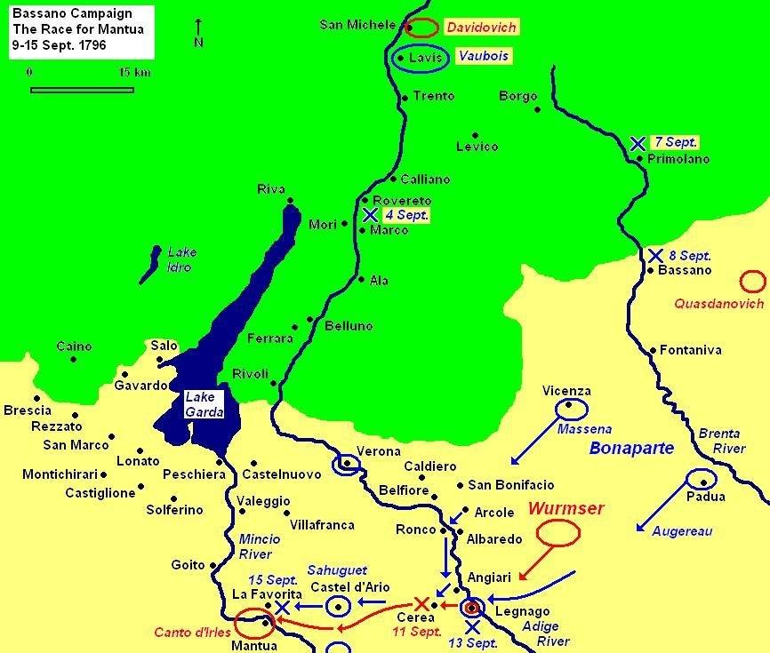 Race for Mantua 15 Sept 1796