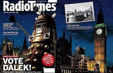 Radio Times Vote Dalek cover