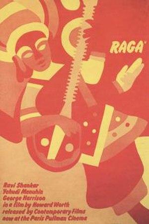 Raga (film) - Theatrical release poster