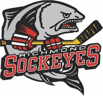 Richmond Sockeyes - Image: Richmond Sockeyes Logo
