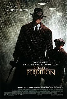 <i>Road to Perdition</i> 2002 American crime film directed by Sam Mendes