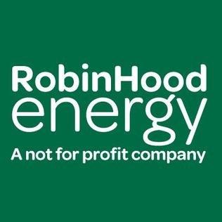 Robin Hood Energy Logo, Not For Profit Company