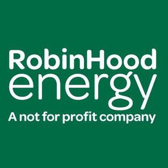 Robin Hood Energy - Image: Robin Hood Energy Logo, Not For Profit Company