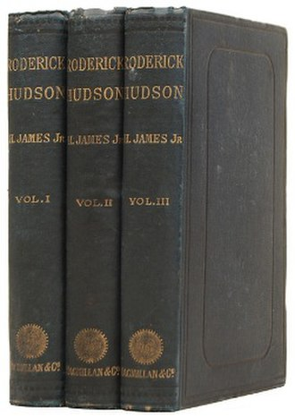 Roderick Hudson - First UK edition (1879)