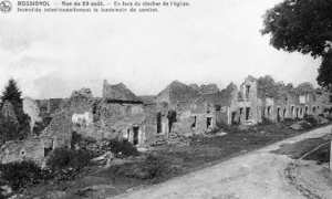 Battle of Rossignol - The village of Rossignol after the battle