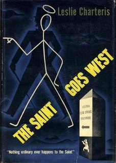 <i>The Saint Goes West</i> book by Leslie Charteris