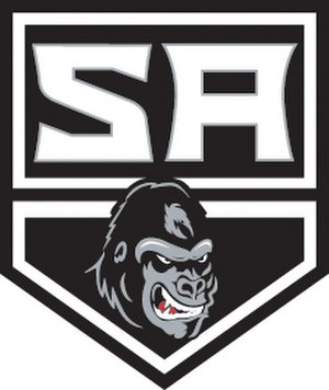 Salmon Arm Silverbacks - Image: Salmon Arm Silverbacks logo