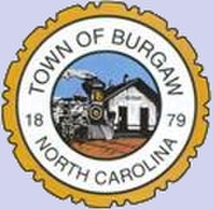Burgaw, North Carolina - Image: Seal of Burgaw, North Carolina